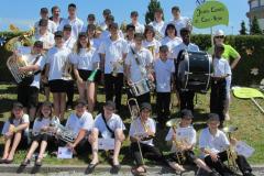 Fête cantonale Jeunes Musiciens Belfaux 2013
