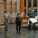 Audition de Noël 2012 des cuivres et percussions