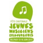 Les Jeunes Cuivres à la fête cantonale 2013 de Belfaux