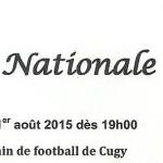 Fête nationale 1er août 2015