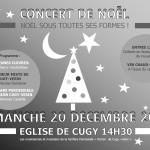 Concert de Noël 20 décembre 2015 à 14h30