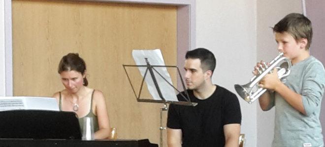 Photos de l'audition d'été 2018