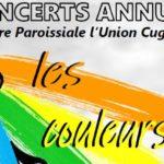 Concerts annuels les 29 et 30 mars